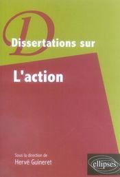 Dissertations sur l'action - Intérieur - Format classique
