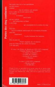 Poèmes t.2 ; 1918-1921 - 4ème de couverture - Format classique