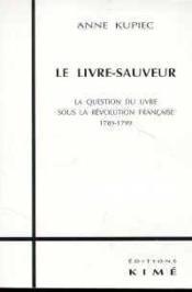 Livre Sauveur (Le) - Couverture - Format classique