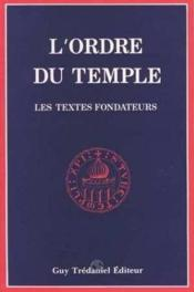 Ordre Du Temple - Couverture - Format classique
