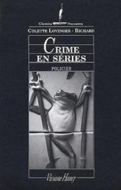 Crime en series - ne - Couverture - Format classique