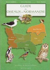 Guide des oiseaux de Normandie - Couverture - Format classique