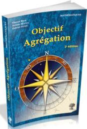 Objectif agrégation (2e édition) - Couverture - Format classique