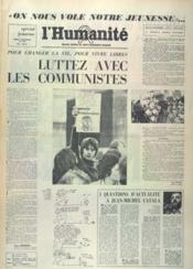 Humanite (L') N°9708 du 04/11/1975 - Couverture - Format classique