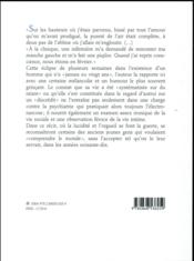 La paresse et la gloire - 4ème de couverture - Format classique