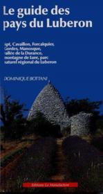 Le guide des pays du luberon - Couverture - Format classique