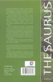 Guide Du Patrimoine Botanique En France - 4ème de couverture - Format classique