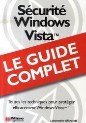 Sécurité windows vista - Intérieur - Format classique
