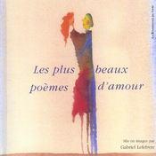 Les Plus Beaux Poemes D'Amour - Intérieur - Format classique