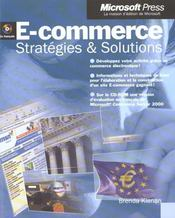 E-Commerce ; Strategies Et Solutions – Brenda Kienan – ACHETER OCCASION – mars 2001