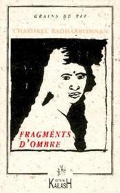 Fragments D'Ombre - Couverture - Format classique