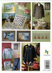 Patchwork et laine piquetée. déco et customisation - 4ème de couverture - Format classique