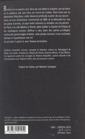 Balthus à contre-courant - 4ème de couverture - Format classique