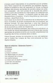 Les Symetries Brisees. - 4ème de couverture - Format classique