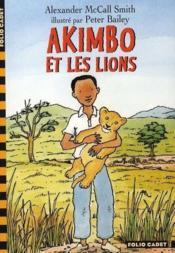 Akimbo et les lions - Couverture - Format classique