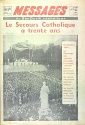 Messages Du Secours Catholiques N°276 du 01/09/1976 - Couverture - Format classique