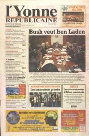 Yonne Republicaine (L') N°219 du 21/09/2001 - Couverture - Format classique