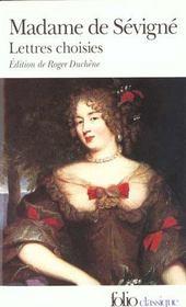 Lettres Choisies - Intérieur - Format classique