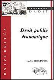 Droit Public Economique - Intérieur - Format classique