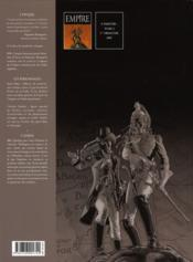 Empire t.1 ; le général fantôme - 4ème de couverture - Format classique