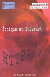 Éthique et Internet - Couverture - Format classique