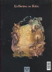 La graine de folie t.1 ; igguk - 4ème de couverture - Format classique