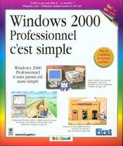 Windows 2000 Professionnel C'Est Simple - Intérieur - Format classique