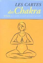 Coffret Cartes Des Chakra - Intérieur - Format classique