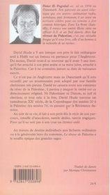 Le Reveur De Palestine - 4ème de couverture - Format classique
