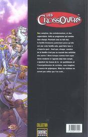 Crossovers T.1 - 4ème de couverture - Format classique