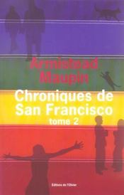 Vente  Chroniques de San Francisco ; INTEGRALE VOL.2 ; T.4 A T.6  - Armistead Maupin