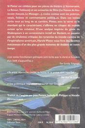 Autres voix. Prose, Poésie, Politique. 1948 - 1998. - 4ème de couverture - Format classique