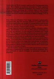 Polymorphisme et polysemie de l'image - 4ème de couverture - Format classique