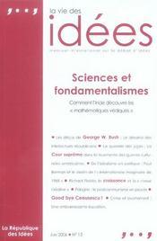 La Vie Des Idees.13 Juin 2006 - Intérieur - Format classique