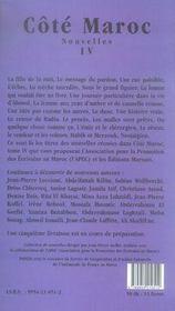 Côté maroc t.4 - 4ème de couverture - Format classique