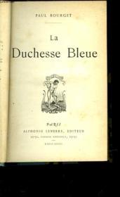 La Duchesse Bleue - Couverture - Format classique