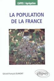 La population de la france des régions et des dom-tom - Intérieur - Format classique