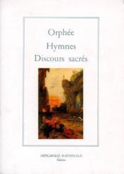 Hymnes ; discours sacrés - Couverture - Format classique