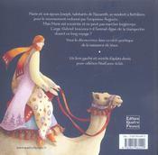 Un ange s'en vint a nazareth - 4ème de couverture - Format classique