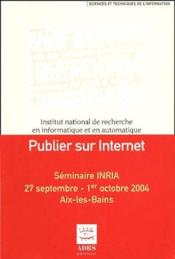 Publier sur internet - Couverture - Format classique
