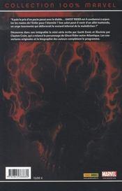 Ghost rider t.2 ; enfer et damnation - 4ème de couverture - Format classique