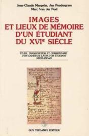 Images Et Lieux De Memoire - Couverture - Format classique