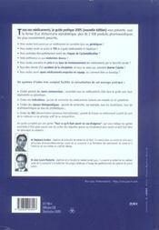 Tous Vos Medicaments : Le Guide Pratique - 4ème de couverture - Format classique