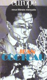 REVUE EUROPE N.894 ; Jean Cocteau - Intérieur - Format classique