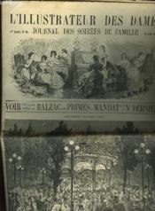 L'Illustrateur Des Dames - Journal Des Soirees De Famille N°25 1re Annee - Couverture - Format classique