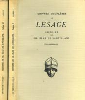 Histoire De Gil Blas De Santillane. En 2 Volumes. - Couverture - Format classique