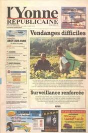 Yonne Republicaine (L') N°230 du 04/10/2001 - Couverture - Format classique