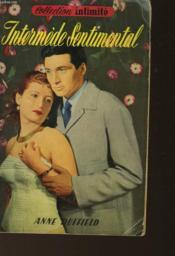 Intermede Sentimental - Passionate Interlude - Couverture - Format classique