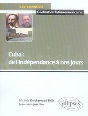 Cuba ; de l'indépendance à nos jours - Intérieur - Format classique