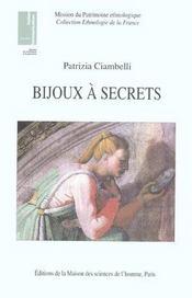 Bijoux A Secrets - Intérieur - Format classique